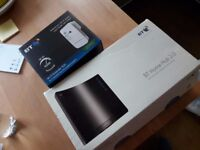 BT Home Hub 2.0 Router and BT WIFI Extender 300