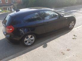 image for REDUCED!!!!Black BMW, 1 SERIES, Hatchback, 2009, Semi-Auto, 1995 (cc), 3 doors,Mot Jan 2021