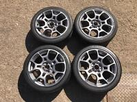 Fiat 500 alloy wheels and tyres