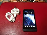 HTC ONE M7 Black/Red unlocked! excellent condition