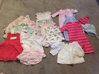 0-3 girls clothes bunde