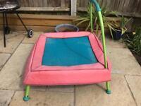 Small garden trampoline