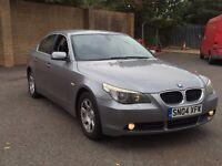 BMW 5 SERIES 520 NEWER SHAPE PETROL AUTOMATIC AUTO LOW MILEAGE MOT NOT E C CLASS A4 A6 X3