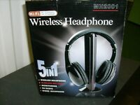 5 in 1 Wireless Headphones