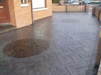 DESIGNER-CONCRETE ( printed/stamped concrete) Driveways/patios