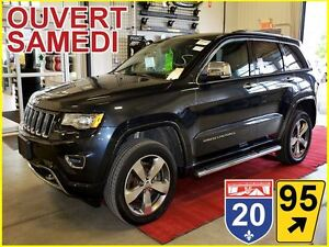 2016 Jeep Grand Cherokee OVERLAND * AWD * ECODIESEL * DVD *