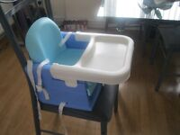 Toddler Booster Seat with Tray