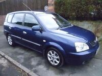 KIA CARENS 2005 REG, LONG MOT, FULL SERVICE HISTORY, LOW MILES, NEW CLUTCH, NICE SPEC WITH AIR CON