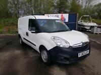 Vauxhall Combo 2013, LWB, Twin sliding doors, Long MOT, Finance available