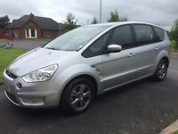 07 FORD S-MAX 2.0 TDCI ZETEC 7 SEATER P/EX WELCOME