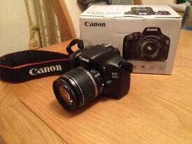 Canon EOS 550D 18.0MP with EF-S 18-55mm lens