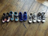 Assortment of Child Size 11 shoes/trainers