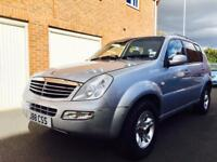 2006 56 Ssangyong Rexton 4x4 2.7 CDI (MERCEDES ENGINE) 120k Manual+Towbar+not ml270 x5 sorento xc90