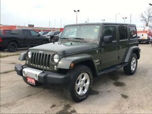 2015 Jeep WRANGLER UNLIMITED SAHARA**NAVIGATION**BLUETOOTH**REMO