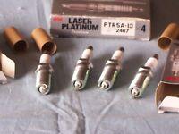 NGK Laser Platinum PTR5A-13 spark plugs x 4