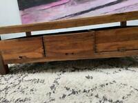Coffee Table with 3 Drawers