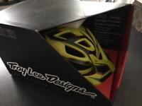 Troy Lee Designs A1 Helmet , Brand New Boxed. Reflex Yellow XL/XXL