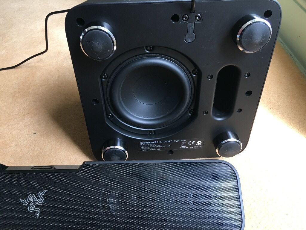 Razer Leviathan Sound Bar And Subwoofer In Abingdon Oxfordshire Wireless Speaker
