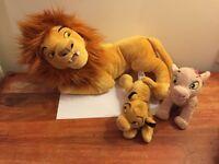 Disney's Lion King Soft Toy -Excellent condition