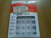 Deluxe 1week pill organizer new