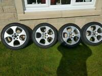 4 X Genuine VW Alloy Wheels