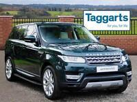 Land Rover Range Rover Sport SDV6 HSE (green) 2014-03-08
