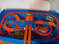 Hotwheels car table