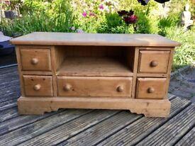 Vintage Pine Cabinet / TV Cabinet