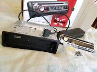 SONY car radio cdx-gt44ip iPod mp3 cd AUX wma
