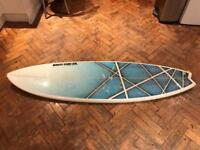 "Surfboard fish 6""4"