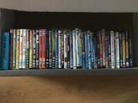 40 Kids DVD's including some newly released ones