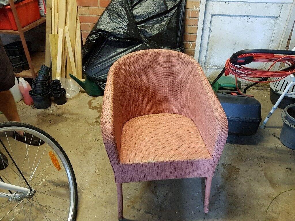 Pink lloyd loom style chairs