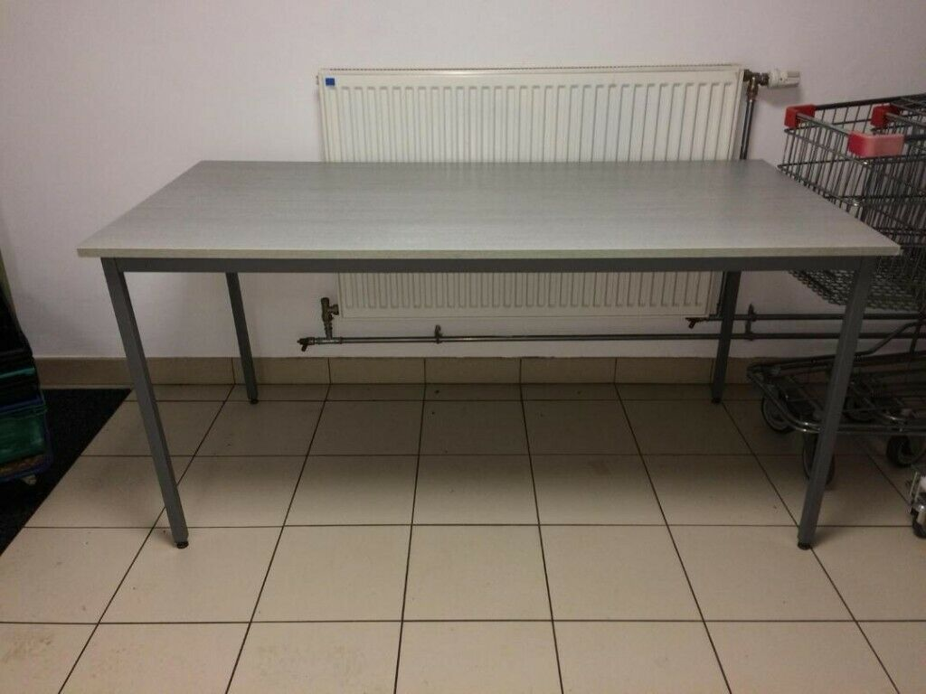 2 Identical Tables Suitable For School Office Church Hall Etc