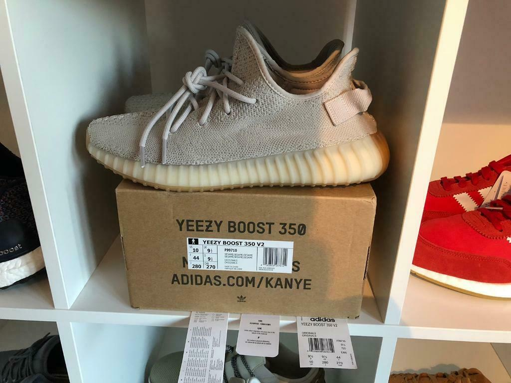 best sneakers 5c007 74d81 adidas Yeezy 350 V2 Sesame UK 9.5 worn once 100% legit I have invoice from  Footlocker UK | in Cheadle Hulme, Manchester | Gumtree