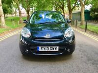 2013 Nissan Micra Acenta CVT | Automatic | 5 Doors | Hpi Clear| Low 9,750 Miles | Like Corsa -Fiesta