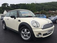 2008 08 MINI Hatch 1.4 One 3dr 6 Speed Manual Petrol