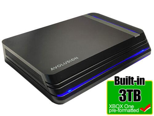 Avolusion HDDGear Pro X 3TB USB 3.0 External Gaming Hard(Xbox One X, S, 1st Gen)
