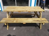 Hand made and renovated wood furniture