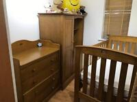 Boori country collection nursery furniture set