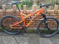 Whyte T130 mountain bike