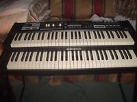 "Hammond SK2 Stage Keyboard ""As New"" with Expression Pedal, Stool, Stand & Case"