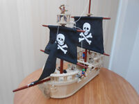 Large Wooden Early Learning Pirate Ship