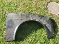 Ford Fiesta mk2 drivers side front wing n.o.s.