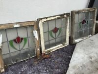 Original 1930 stainglass lead windows
