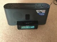 Sony FM/ AM Clock Radio