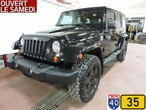 2011 Jeep WRANGLER UNLIMITED UNLIMITED SAHARA,ENS.REMO,2 TOIT