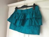 Topshop ruffle skirt - size 12