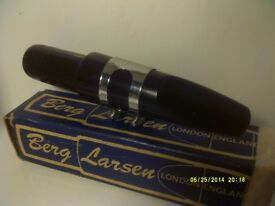 BERG LARSEN BARITONE MOUTHPIECE , BOXED AS NEW , NEVER BEEN MODIFIED ++++