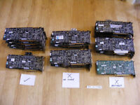 Joblot of 8800GTX and Ultra graphics cards for sale (read description carefully!)