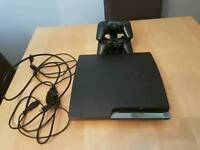 Ps3 320gb slim console with 5 games and 2 controllers. Excellent Condition.